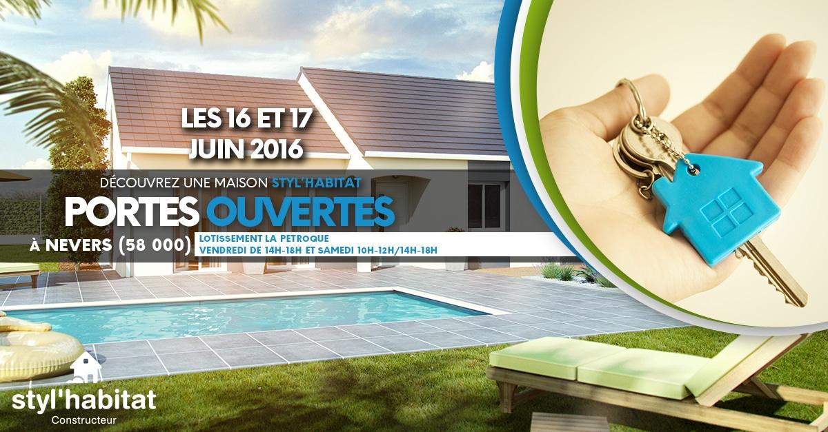 Visitez une maison ce weekend à Nevers !
