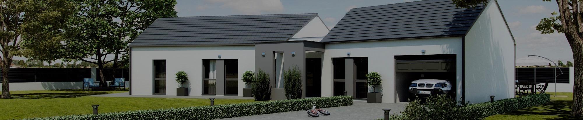 Constructeur maison contemporaine nievre conception de for Construction maison minimaliste