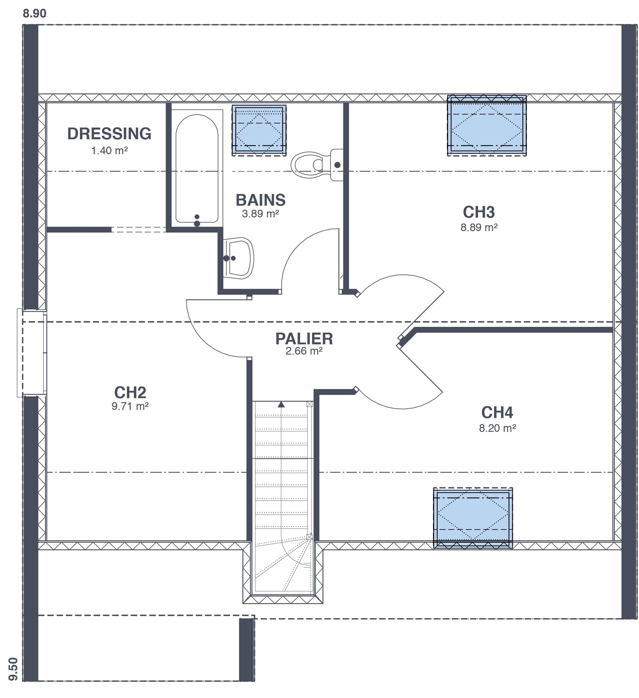 D coration maison design low cost 21 limoges plan - Maison bois low cost ...