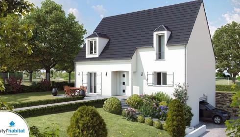 Plans et mod les de maisons for Construire online com plan de maison catalogue