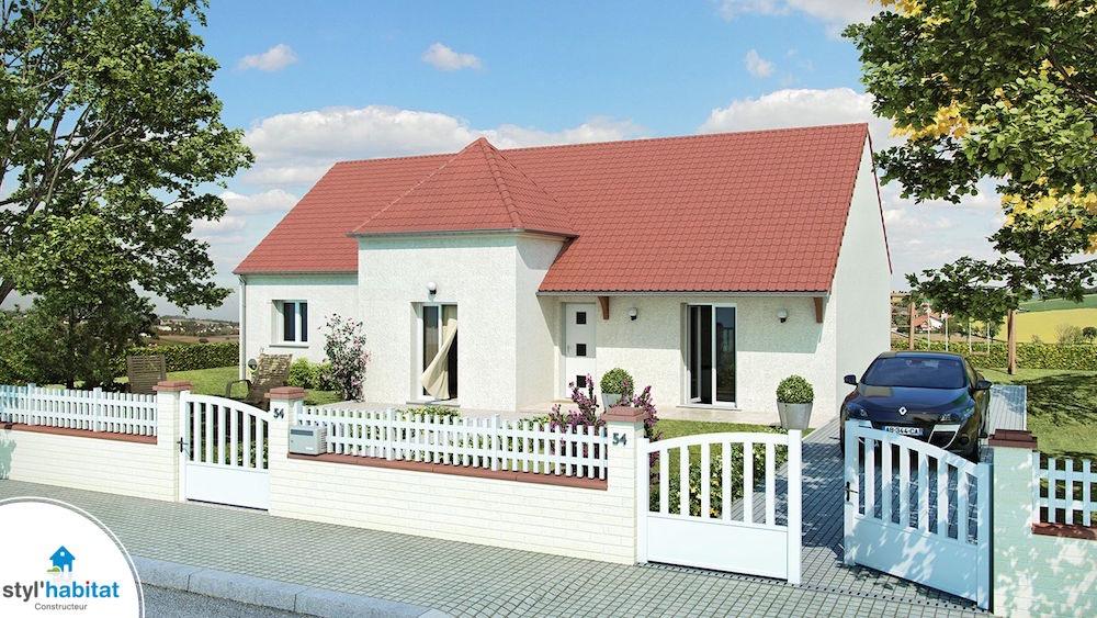 Modele maison styl habitat domainire plainpied with modele for Modele maison familiale