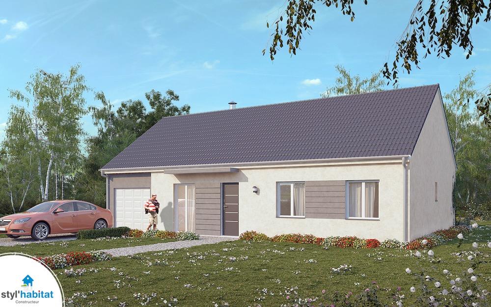 Modele de maison maison habitat concept with modele de for Modele maison habitat concept