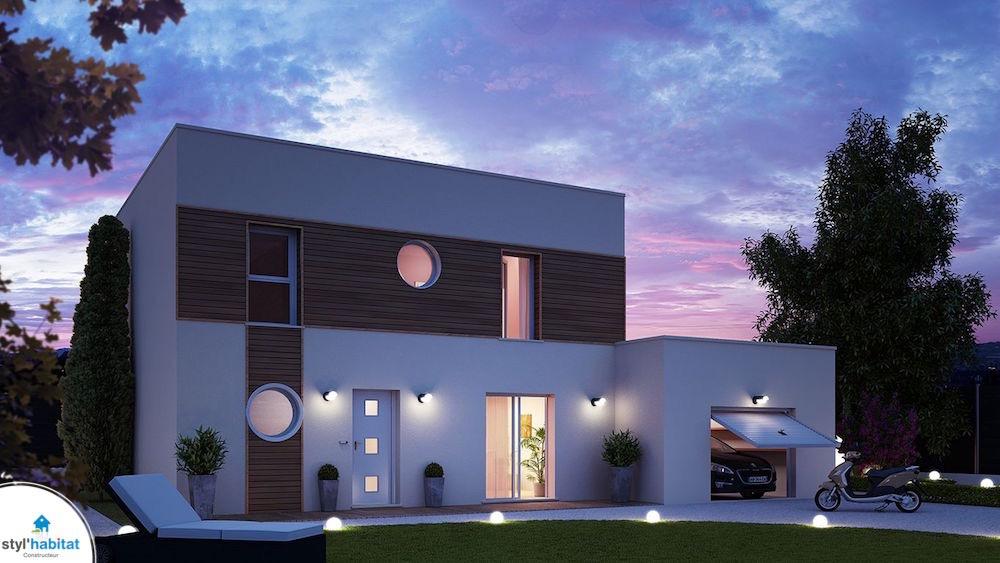Plan maison titanium - Modele d architecture de maison ...