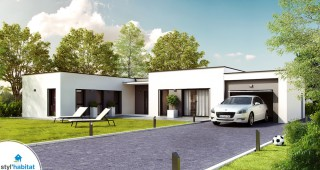 Modele Maison Styl Habitat harmonie
