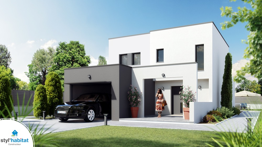 Domainiere etage maison tage avec tour centrale for Voir sa maison en 3d