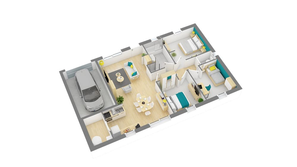 Styl Habitat Focus 80 plan 1
