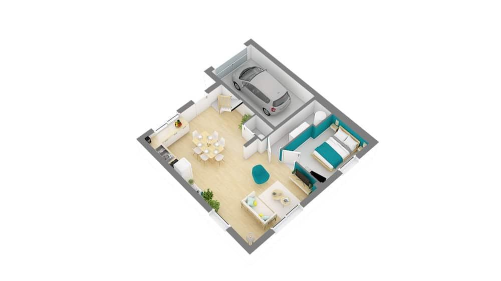 Styl Habitat Focus 85 plan 4