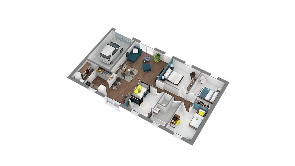 Styl Habitat Focus 91 plan 3