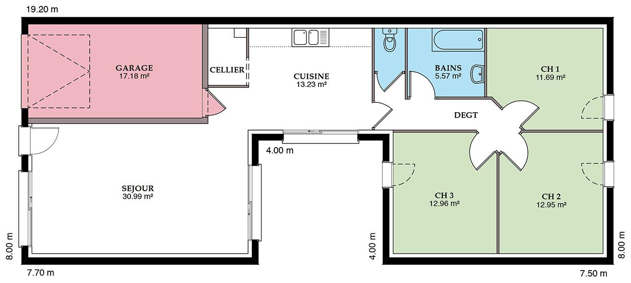 terrain maison myennes 58. Black Bedroom Furniture Sets. Home Design Ideas