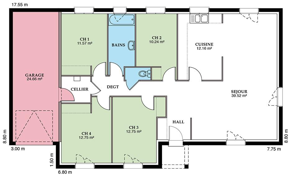 Styl Habitat Mézière 118 VS Placostyl