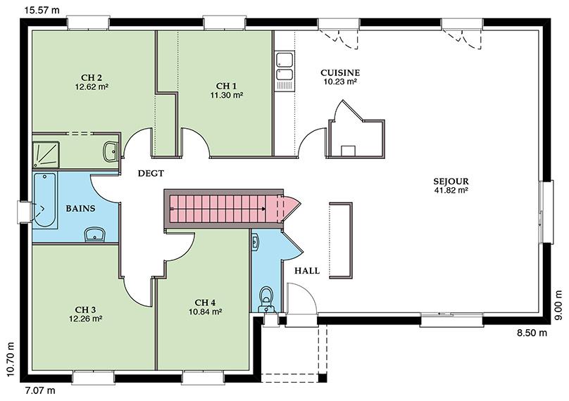 Styl Habitat Mézière 127 SS Placostyl