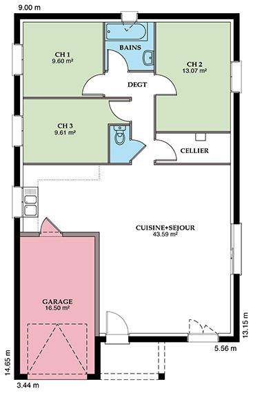 Styl Habitat Mézière 89 VS Placostyl