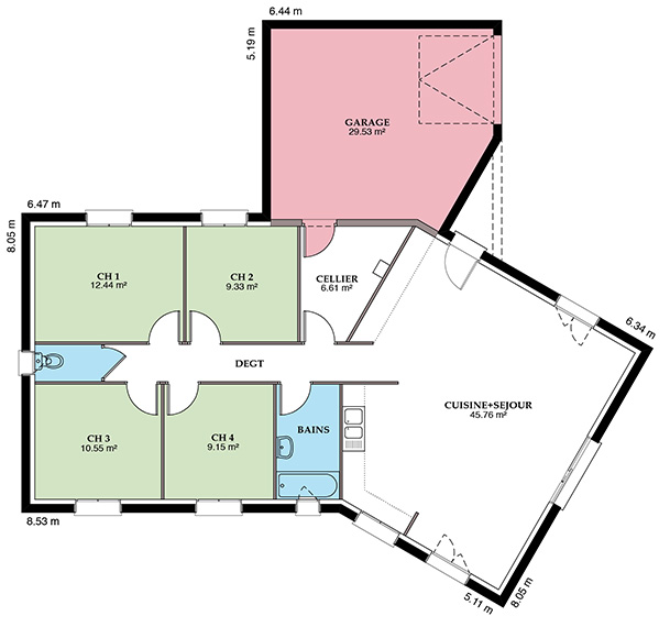Styl Habitat Versière 108 VS Placostyl