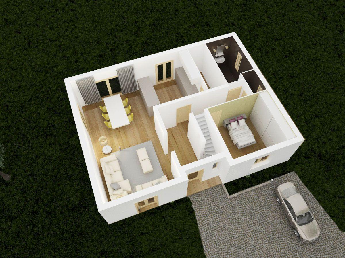 Styl Habitat plan 3D chainiere1