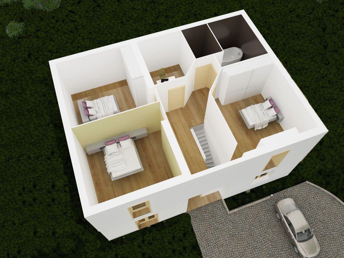 Styl Habitat plan 3D chainiere2