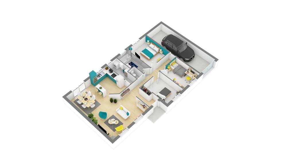 styl habitat maison 3d-Perriere_98