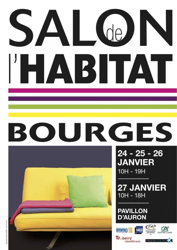 Salon habitat bourges for Salon de bourges
