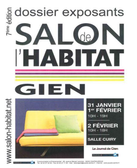 Salon habitat de gien 2014 for Salon habitat