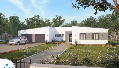Plan Maison Contemporaine Et Moderne