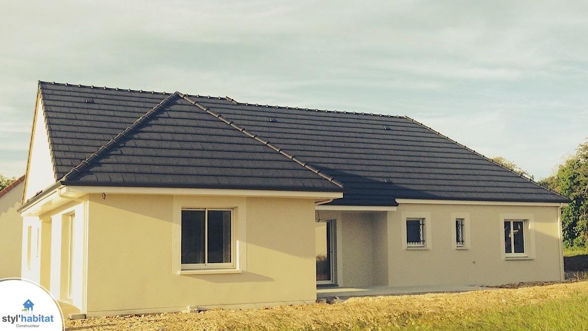 Photo r alisation styl habitat maison contemporaine for Realisation maison contemporaine