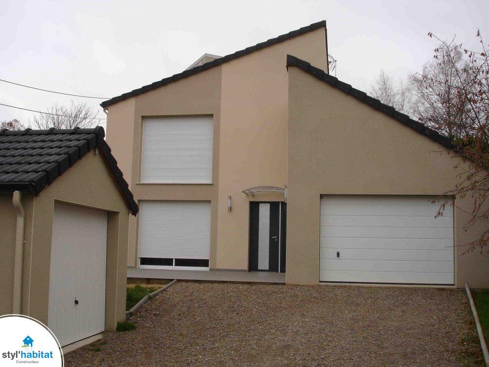 Maison Contemporaine Typ E Centre Ville Styl Habitat