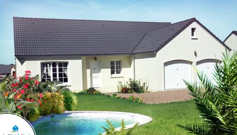 Maison en awesome piscine et jardin new ventes luberon for Maison avec garage double
