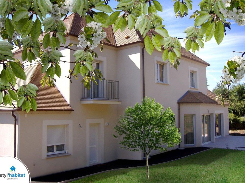 Photo r alisation styl habitat maison sur mesure haut de for Maison sur mesure