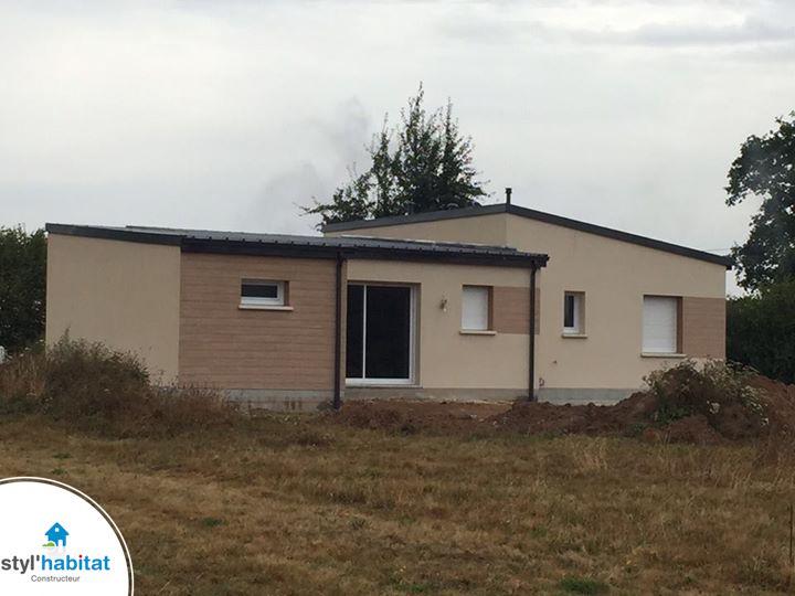 Photo r alisation styl habitat maison moderne en bois for Realisation maison contemporaine