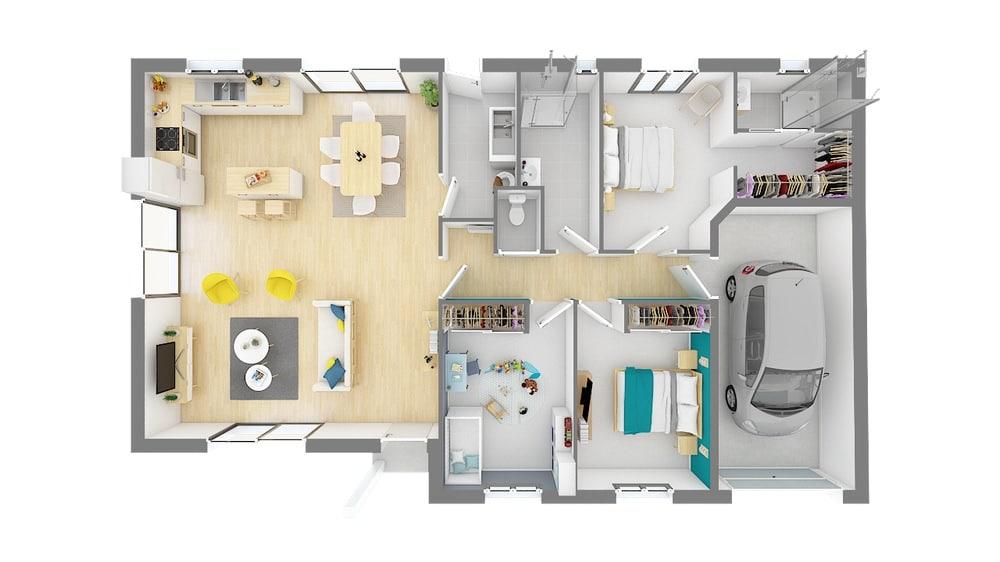 Plan Maison Jeanna