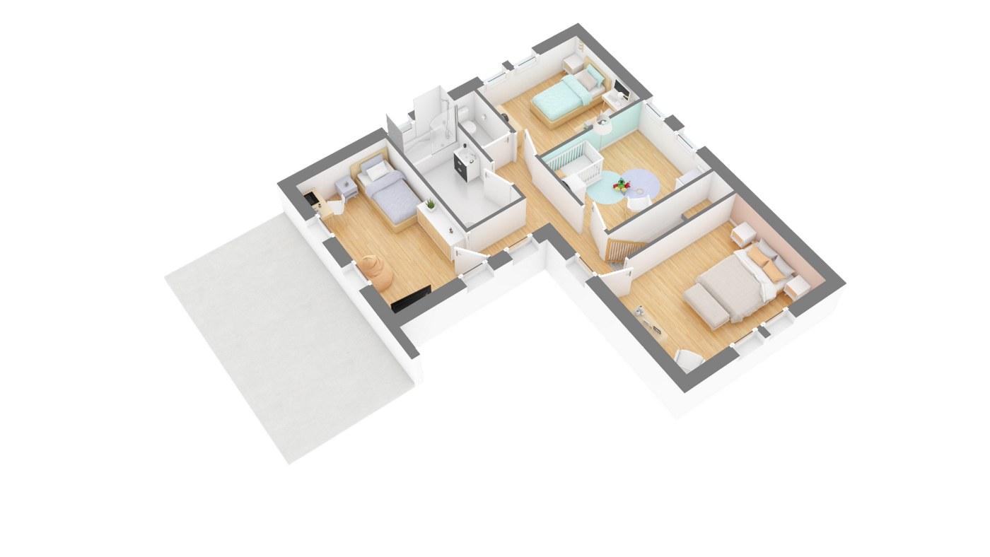 Maison Moderne Atypique